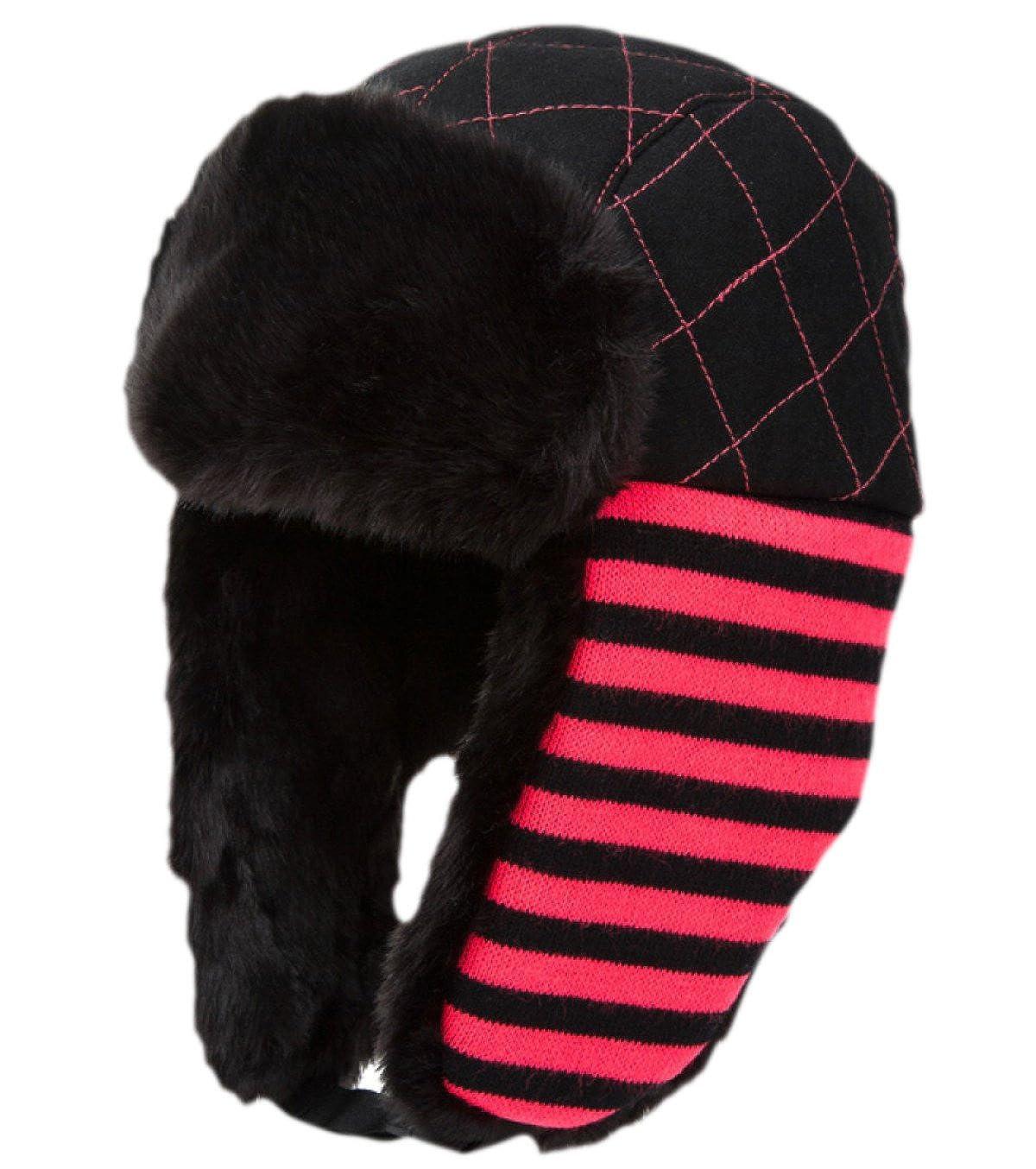 snfgoij Herren Hüte Ski Caps Russische Leder Bomber Hut Winter Fleece Caps Dicker Warm Outdoor