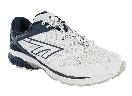 Hi-Tec R200 para Hombre Deportivo de Malla Senderismo Correr Trail Zapatillas Talla:UK11 - US12 - EU45: Amazon.es: Deportes y aire libre
