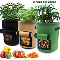 Deals on Nicheo 3 Pcs 6.5 Gallon Garden Boxes
