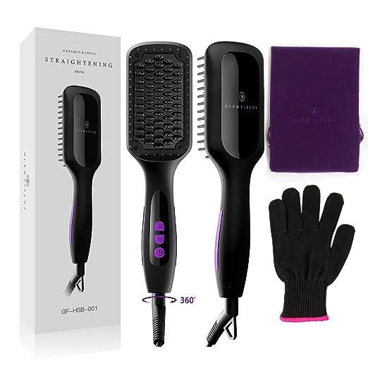 Review Ionic Hair Straightener Brush,