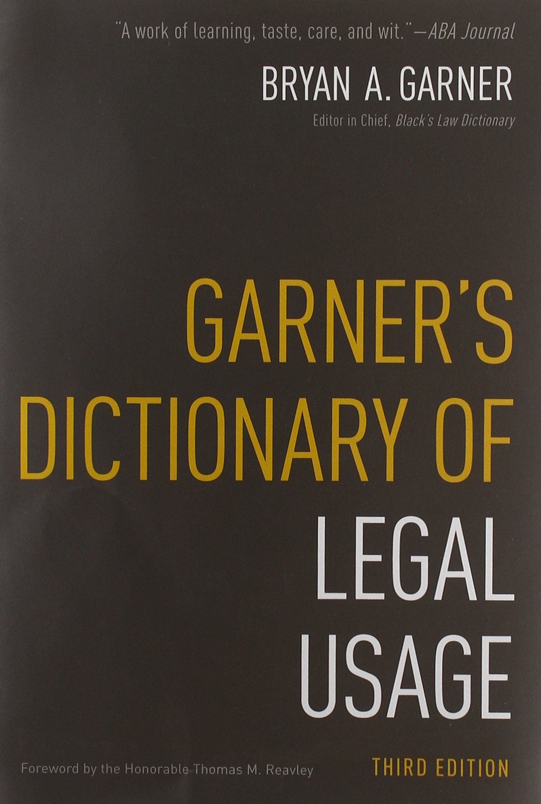 Garners Dictionary Of Legal Usage Pdf