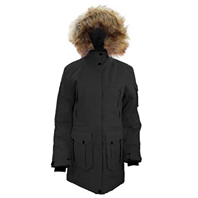 42e4bb3fe Stormtech Womens/Ladies Expedition Thermal Parka Jacket (L) (Black ...
