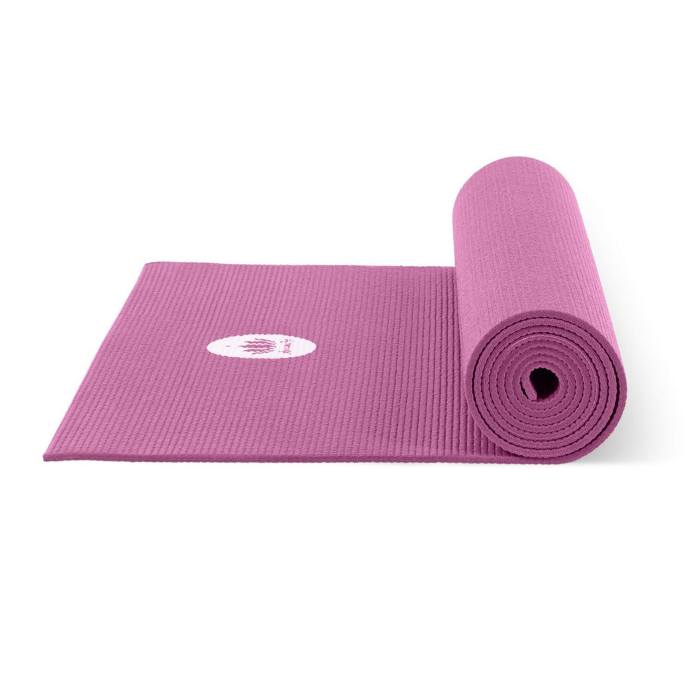 Amazon.com: Lotuscrafts Mudra Studio esterilla de yoga negro ...