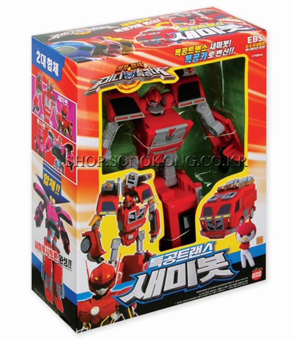Miniforce Semibot Super Sentai Ranger Transformers Korean Robot Figure Sonokong SG/_B00VA5O7GW/_US