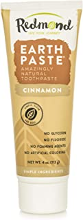 product image for Redmond Earthpaste - Natural Non-Flouride Toothpaste, Cinnamon, 4 Ounce Tube (2 Pack)