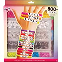 Fashion Angels DIY Tell Your Story Alphabet Bead Case (12355). 800+ Colorful Charms and Beads. Screen-Free Arts and…