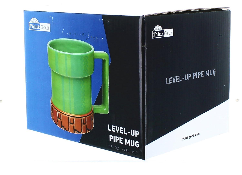 Super Mario Bros. 15oz Ceramic Level-Up Pipe Mug  Amazon.co.uk  Kitchen    Home 3b4b24ee0e