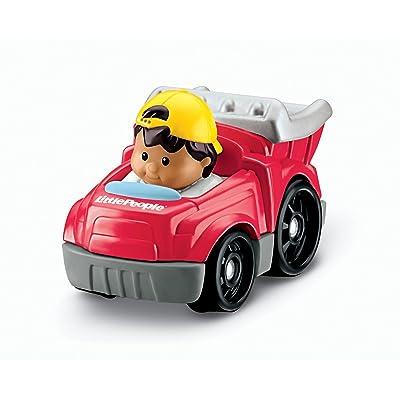 Fisher-Price Little People Wheelies Dump Truck: Toys & Games