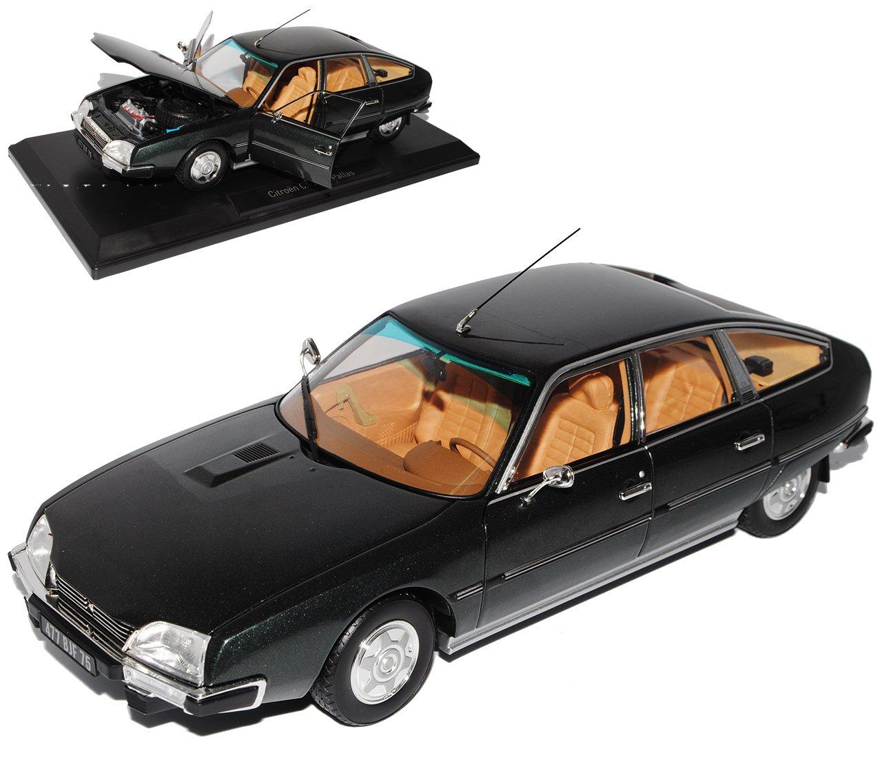 Norev Citroen CX 2200 Pallas Limousine Grau Schwarz Serie I 1974-1985 1/18 Modell Auto mit individiuellem Wunschkennzeichen