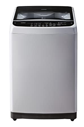 LG 6.5 kg Fully-Automatic Top Loading Washing Machine (T7581NEDLJ, Middle Free Silver)