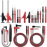 Meterk 21-in-1 multimeter elektronische meetleidingen, accessoireset met testverlenging, testsonde, krokodillenklem en…