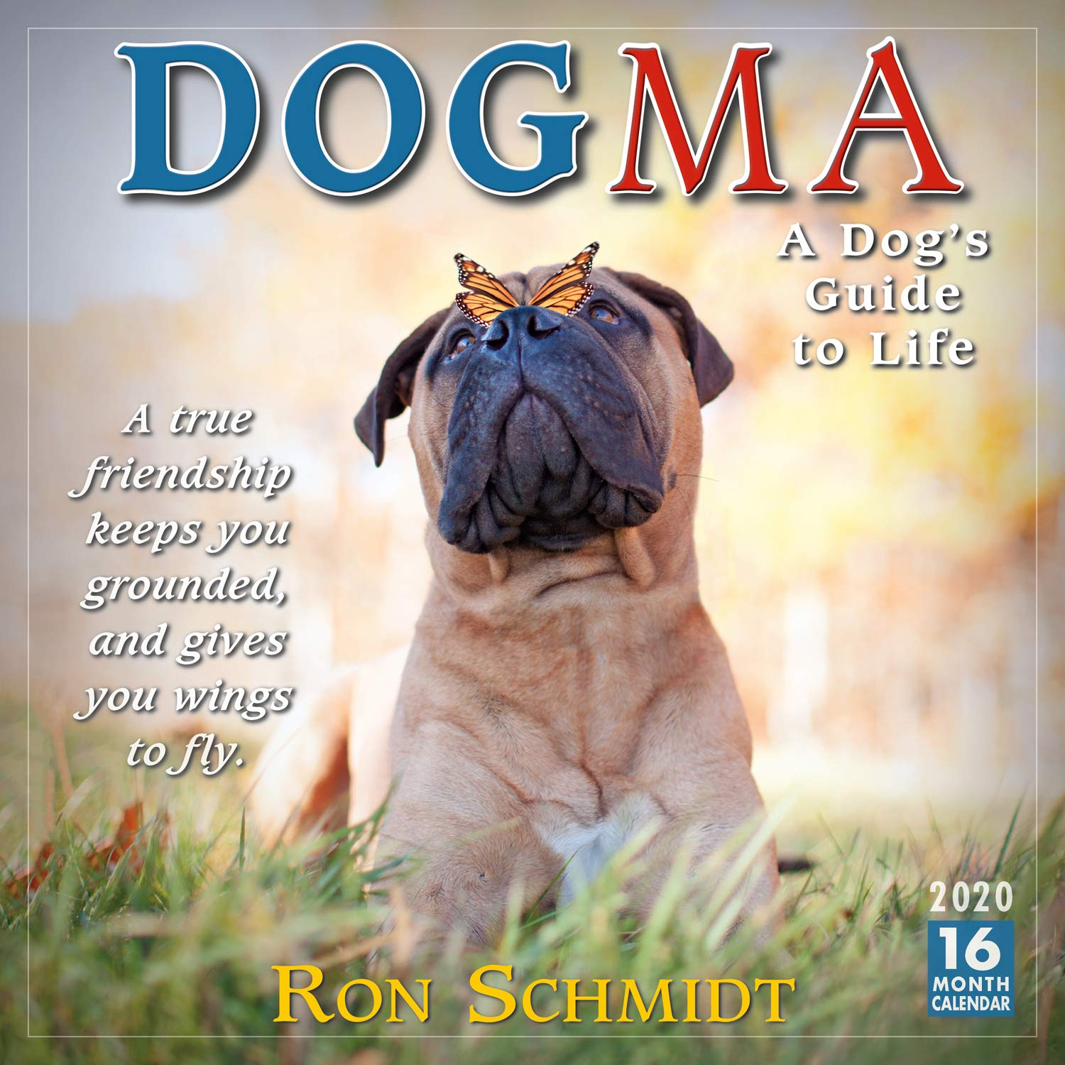 Dogma 2020 Wall Calendar 16 Month A Dogs Guide To Life