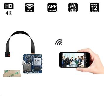 matecam 4 K Oculta espía cámara estenopeica CAM Full HD Mini DIY 1080P WiFi Cámara de