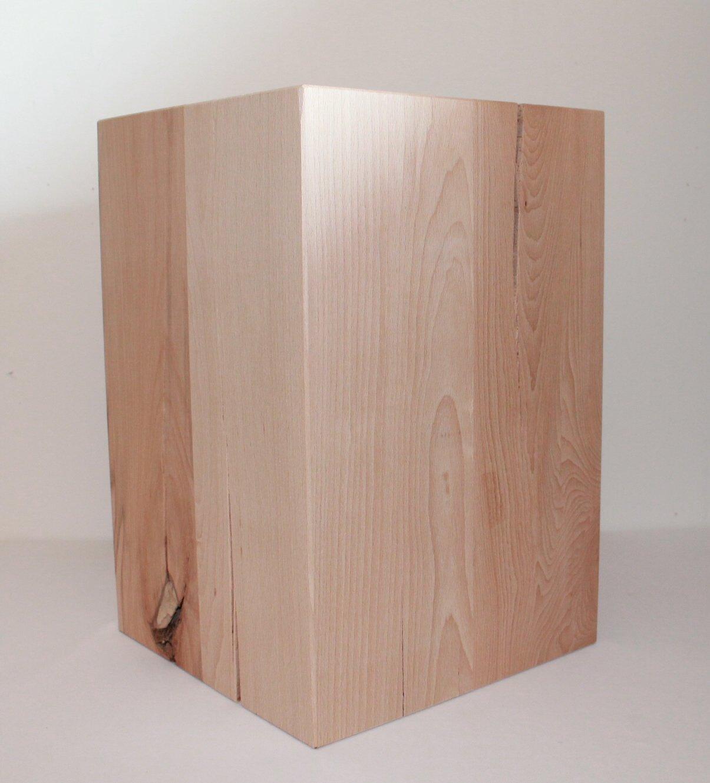 holzklotz als perfect basteln mit holz als coole bastelidee fr designer spiegel mit holzrahmen. Black Bedroom Furniture Sets. Home Design Ideas