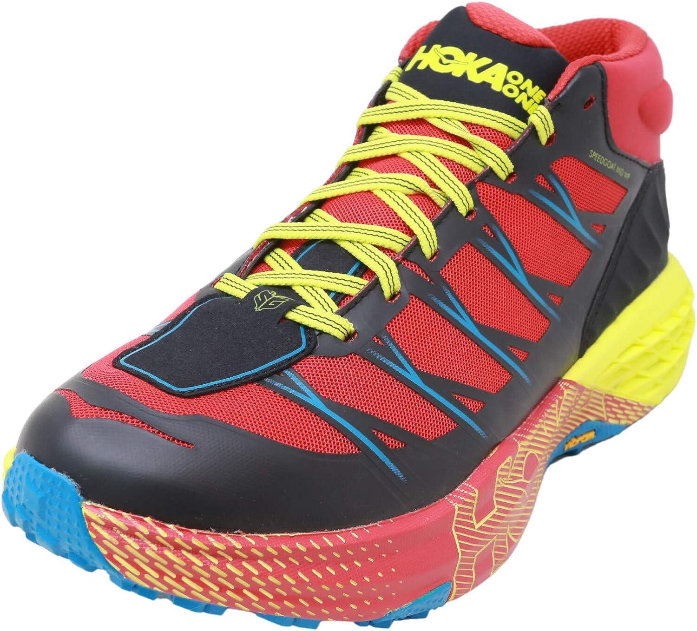 Hoka One M Speedgoat Mid Waterproof, Zapatillas de Hombre de Trail Running Mid Rojo Size: 42 EU: Amazon.es: Zapatos y complementos