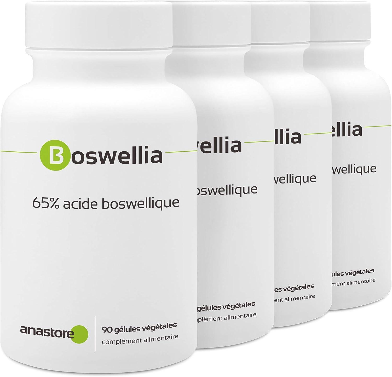 BOSWELLIA SERRATA * OFERTA 3+1 GRATIS * 370 mg / 360 cápsulas ...