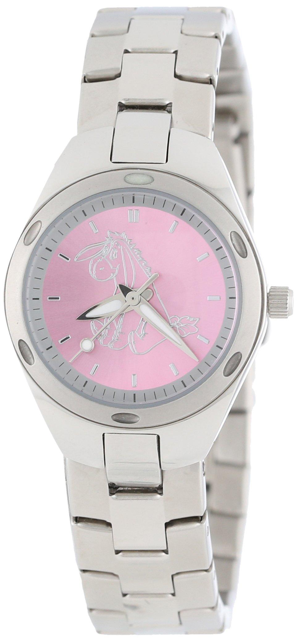 Disney Women's 59006-6 Stainless Steel Eeyore Watch