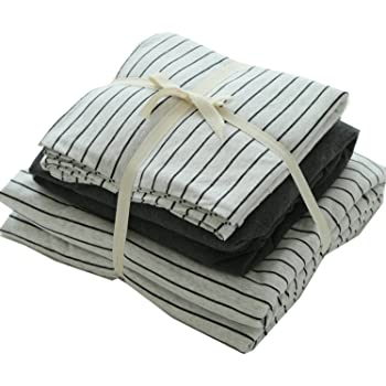 Amazon Com Ningkotex Cotton Stripe Jersey Duvet Quilt