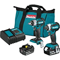 2-Piece Makita 18V LXT Lithium-Ion Brushless Cordless Combo Kit