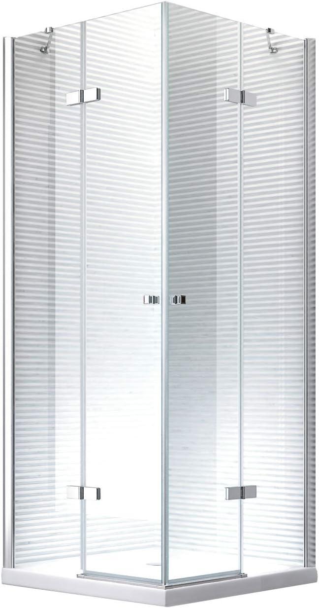 DEMETER esquina cabinas de ducha cabina de ducha Ducha Mampara – 8 mm – Cristal de Seguridad monocapa de – Luxus ducha: Amazon.es: Bricolaje y herramientas