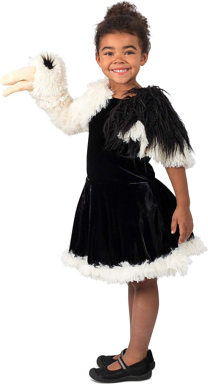 Disfraz de princesa Paradise para niña de avestruz - Blanco ...