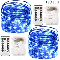 Twinkle Star 100 LED Copper Wire String Lights