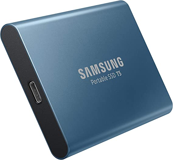 Samsung T5 250GB - Disco Estado sólido SSD Externo (250GB, USB ...