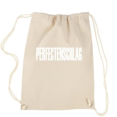 FerociTees Perfectenschlag Dwight Office Funny Cotton Drawstring Backpack