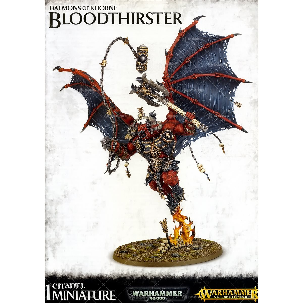 Warhammer Fantasy / Warhammer 40K Khorne Bloodthirster by Games Workshop (Image #1)