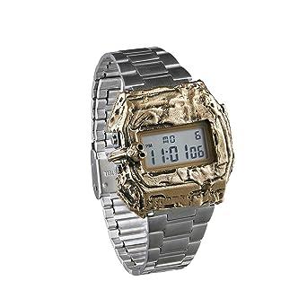 Casio A158WA-1DF - Reloj Digital de Cuarzo para Hombre, con Correa de Metal: Amazon.es: Relojes