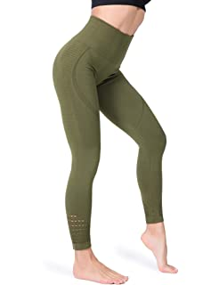 dac92c02be321 FITRELL High Waist Yoga Pants for Women Tummy Control Running Seamless Gym  Workout Leggings