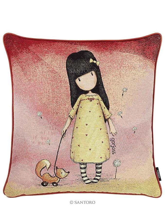 Santoro Gorjuss Cojin con relleno Reversible Little Rabbit 45 x 45 cm