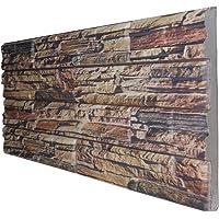 Piedra tallada montañas rocosas - Panel imitación piedra