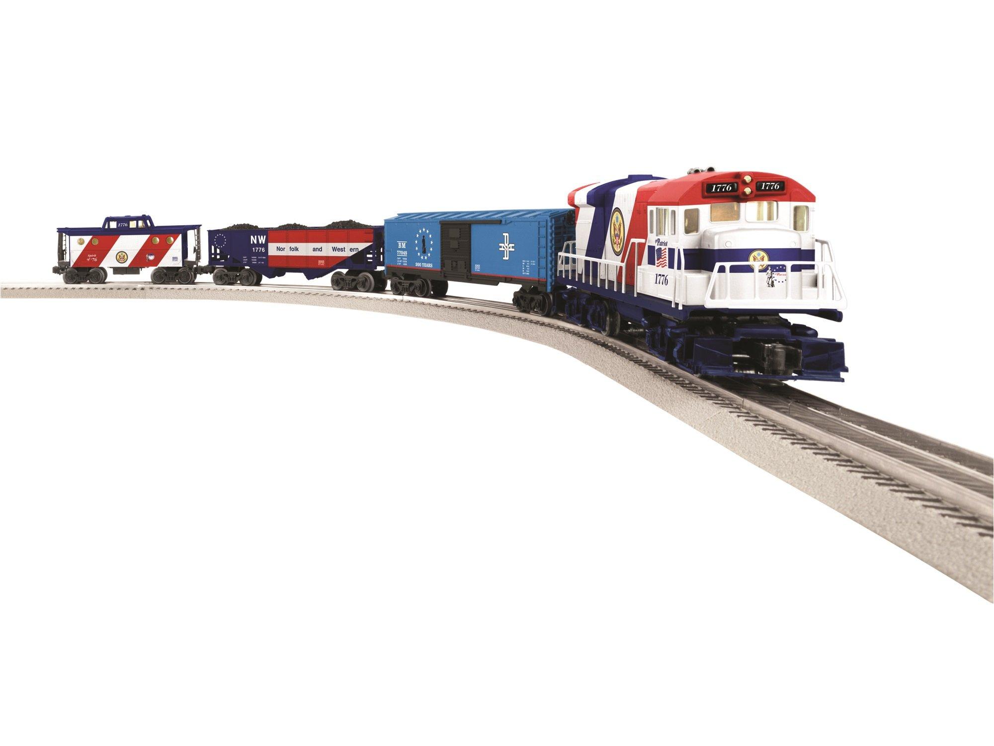 Lionel The Patriot LionChief U36B Diesel Freight  Ready To Run Train Set
