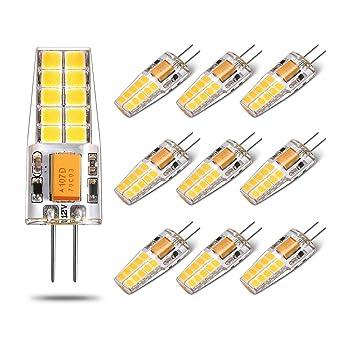 Bombilla LED G4 - Yuiip, 2.5 W Equivalente a 25 W, Blanco Frio (