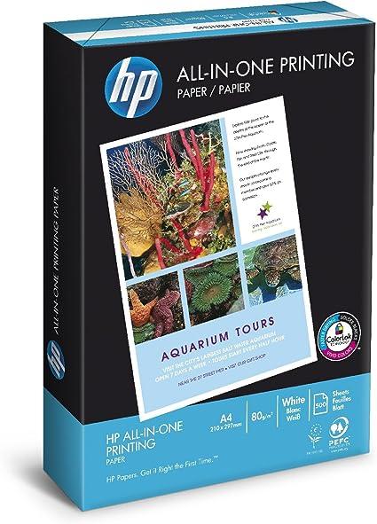 HP Papel de impresión para impresoras multifunción HP - 500 hojas ...