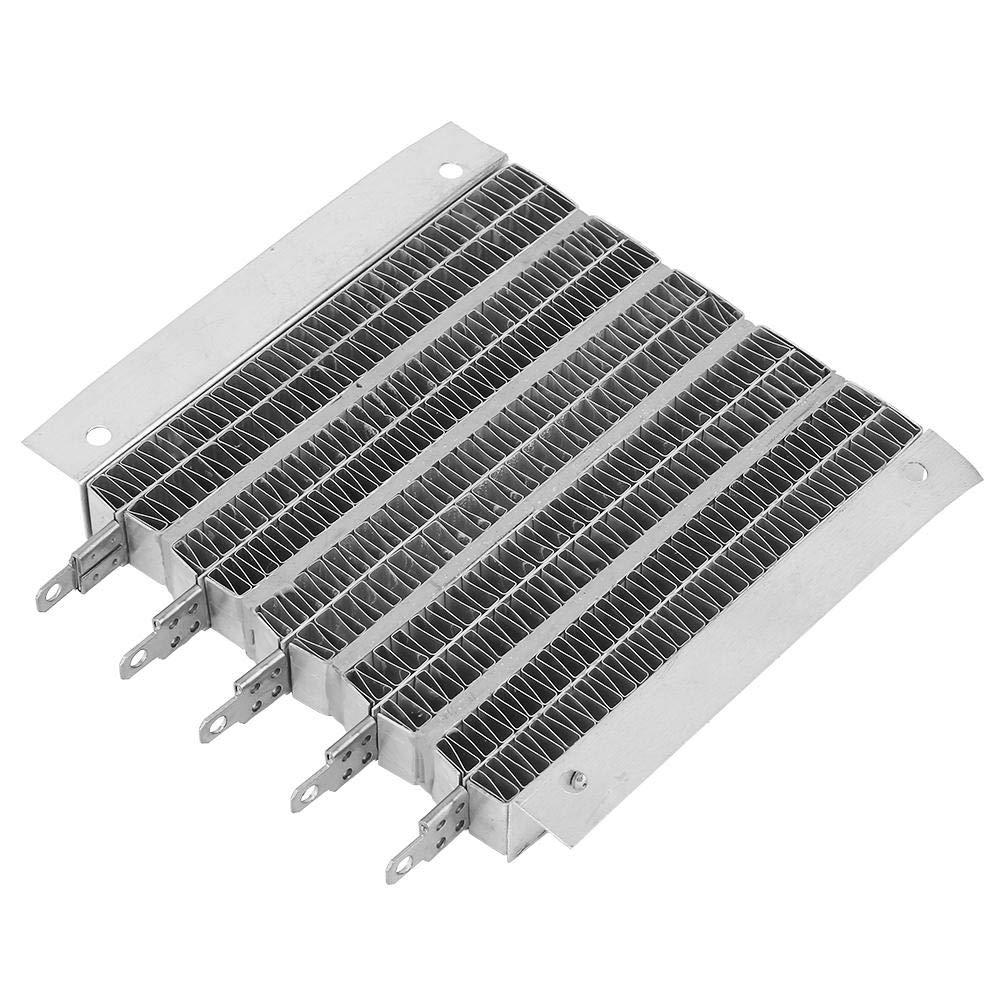 Ripple Heating Plate, 1000W 36V/48V Housing Constant Temperature PTC Ripple Heating Plate Thermistors Heater air Heat Pump Ripple PTC Heater(48V 1000W)