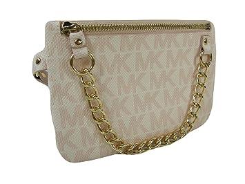 b2070743ac9bea Amazon.com: New Michael Kors MK Logo Fanny Pack Belt Wallet Size L ...