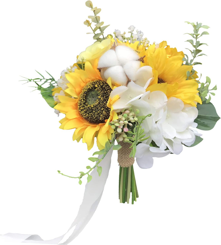 Artificial Sunflower Nosegay Bouquet