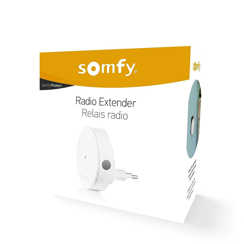 Somfy 2401495 Extensión Radio, Blanco