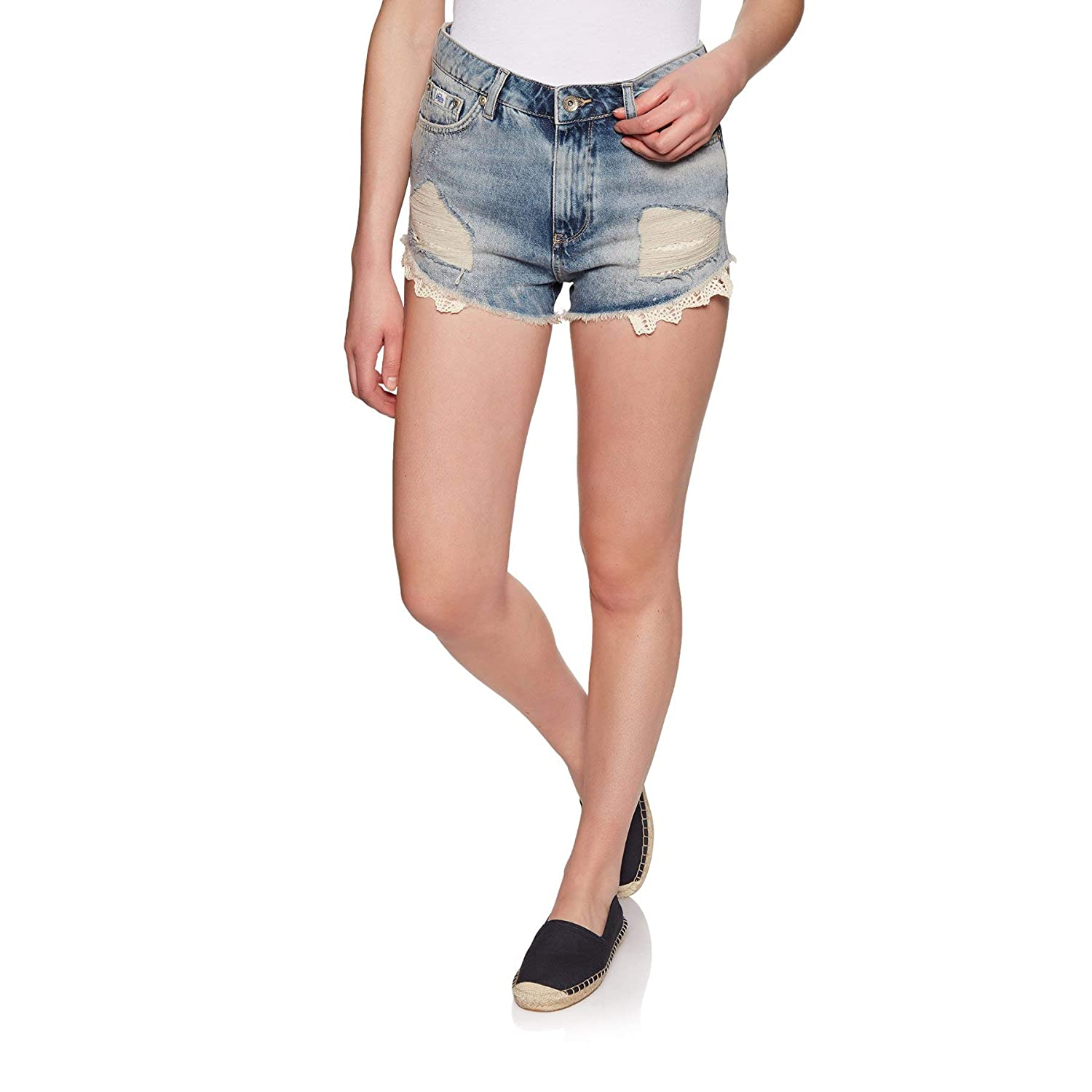 Superdry Eliza Cut off Short Pantaloncini Donna