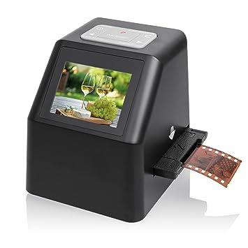 7dayshop Escaner HD portátil de 22MP para diapositivas y negativos ...