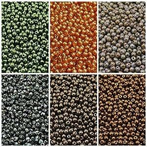 Perlas de 6006colores conjunto único RP 318prensado Checa cuentas de cristal redondo 3mm, 3rp007,3rp009,3rp010,3rp011,3rp012,3rp018