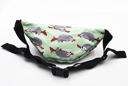 I Just Freaking Love Sharks Sport Waist Bag Fanny Pack Adjustable For Travel