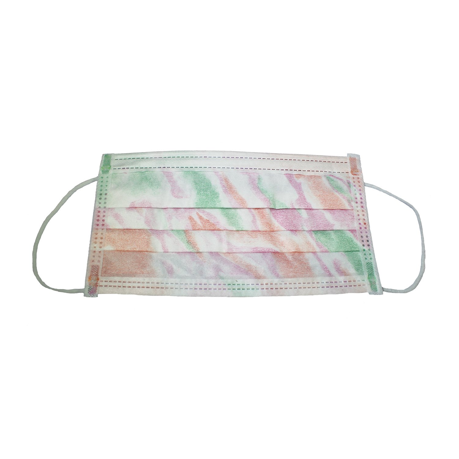 Buy Free Latex Floral 50 Earloop Astm Of 1 Level Face Mask Box