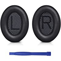 Professional Replacement Ear Pads Cushions, Earpads Compatible with Bose QuietComfort 35 (Bose QC35) and Quiet Comfort…