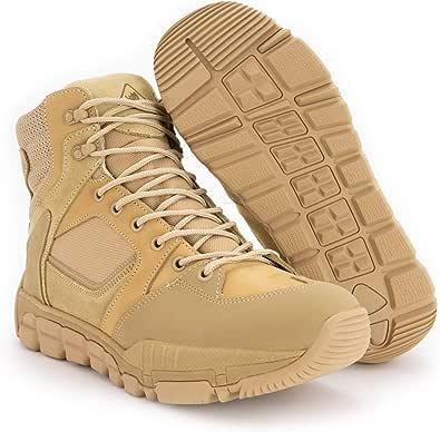 RYNO GEAR Trek Coolmax Tactical Side Zip Boots