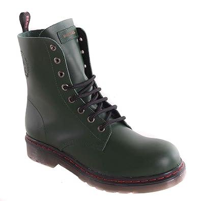 on sale 4695b ff815 Diesel Damen Boots Stiefeletten Stiefel Grün Echtleder #75 ...