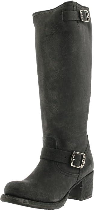 Amazon.com | FRYE Women\'s Vera Slouch Knee-High Boot, Black, 6.5 M ...