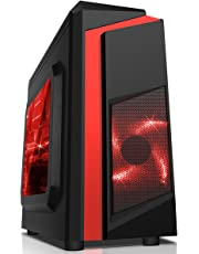 ADMI Gaming PC: AMD A10-9700 3.8GHz Quad Core, Radeon R7 Graphics, 1TB HDD, 8GB DDR4 RAM, 600Mbps WiFI, Windows 10